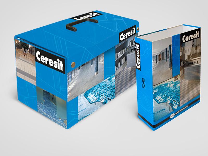 Ceresit tootekohver ja mappkaanedTellija: Henkel Balti OÜ